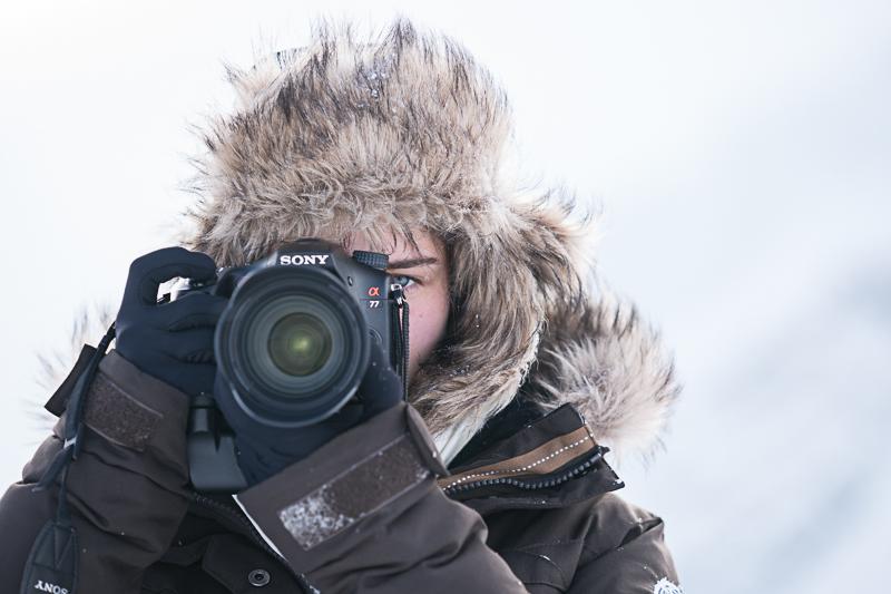 Duell mit der Kamera