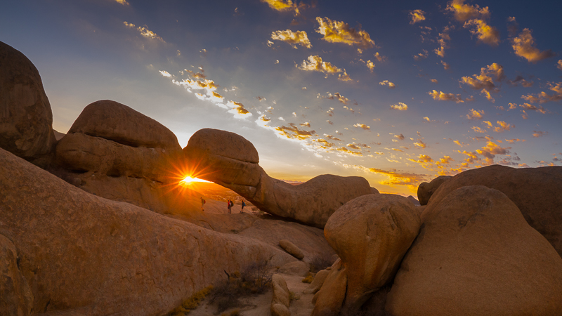 Sunrisr in Spitzkoppe
