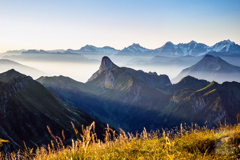 Stockhorn mit Berner Alpen (Gantrisch)