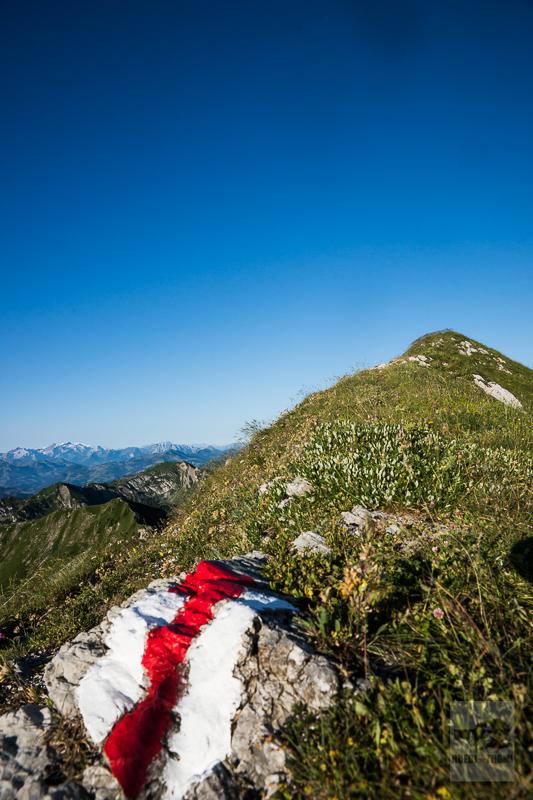 Bergweg am Schibespitz