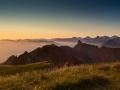 Sonnenaufgang auf dem Gantrisch
