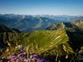 Blick vom Gantrisch (Im HG der Mt. Blanc)