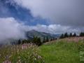 Selibüel mit Wolken
