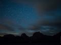 Sternenhimmel über dem Gurnigel