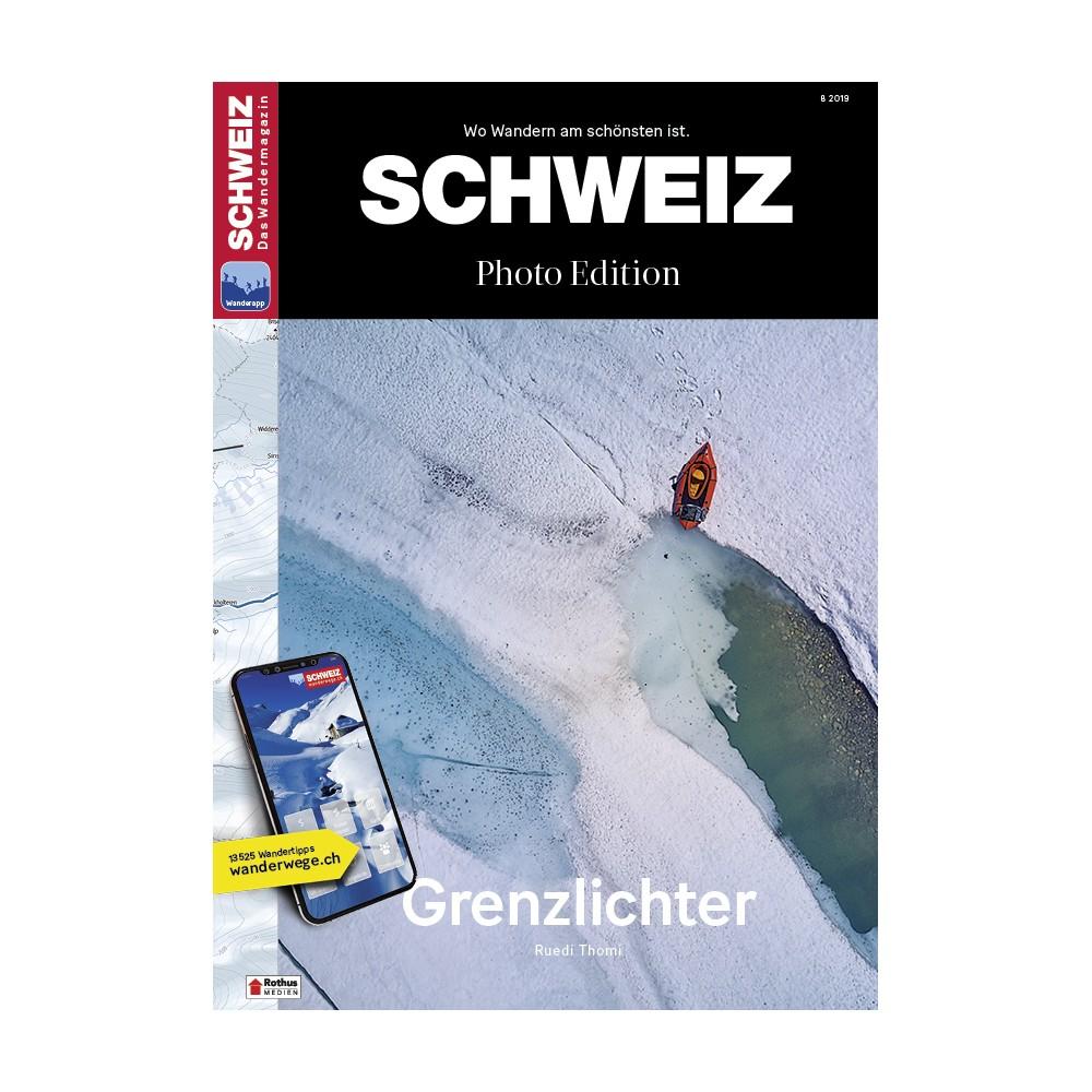 SCHWEIZ Das Wandermagazin Photo Edition 8/2019