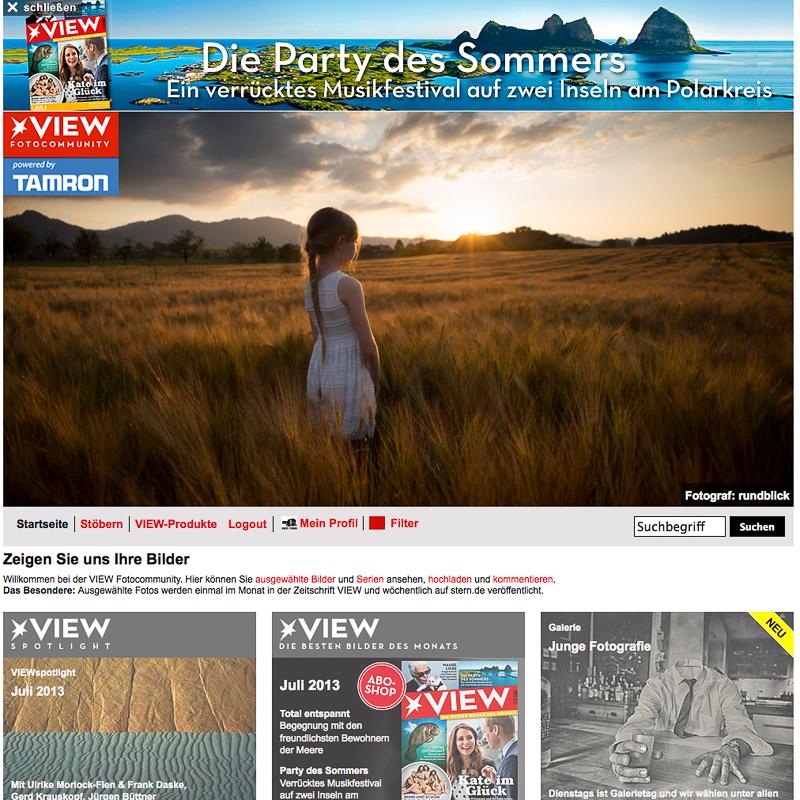 Stern View Juli 2013