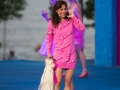 Julia an der Barbie Party