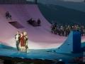 Die Amme flankiert von Mercutio und Benvolio