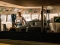 Im Tragflügelboot