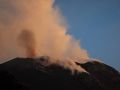 Explosion am NE Krater
