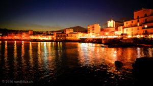 Capo Mulini bei Nacht